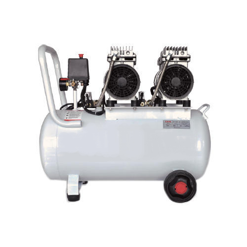 Imported - Buy 50L Sound Less Oil Free Air Compressor, 1.5HP